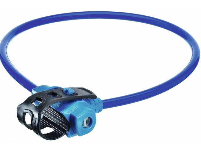 Trelock KS 211 Fixxgo Kids Cable Lock Barn blue